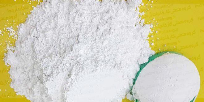 مش کربنات کلسیم تولید شده در کارخانه آروشا